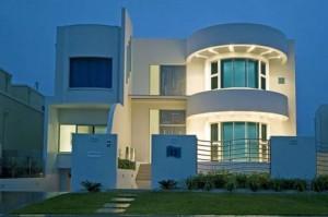 casas modernas de dois andares