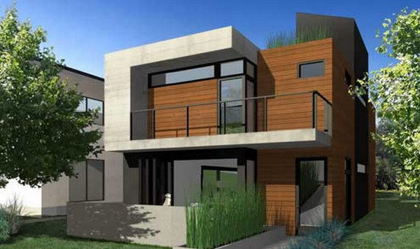 Fotos de casas modernas for Casa moderna baratas