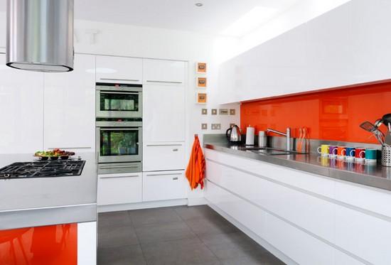 decoracao de interiores sotaos:fotos de cozinhas modernas coloridas