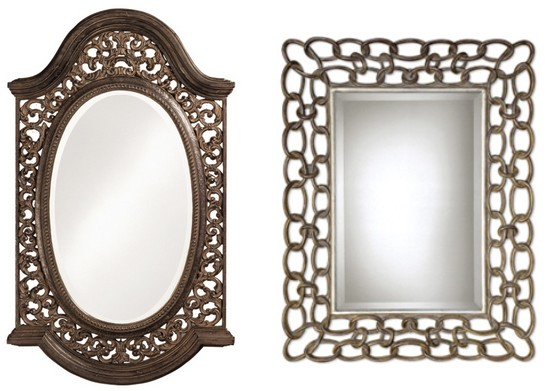 Fotos de decora o com espelhos - Espejos pequenos decorativos ...
