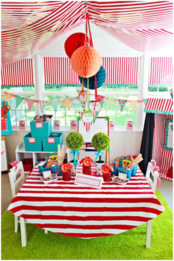 Fotos de decoração de carnaval