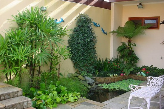 Fotos de decoração de jardins