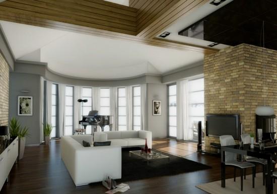Fotos de salas decoradas for Diseno de interiores sala de estar