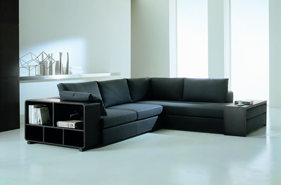 Fotos de sof s modernos for Salon en l moderne