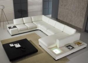 sofas modernos brancos