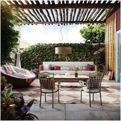 fotos de decora o de terra os. Black Bedroom Furniture Sets. Home Design Ideas