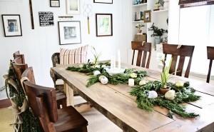 mesa para natal