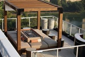 terraços modernos