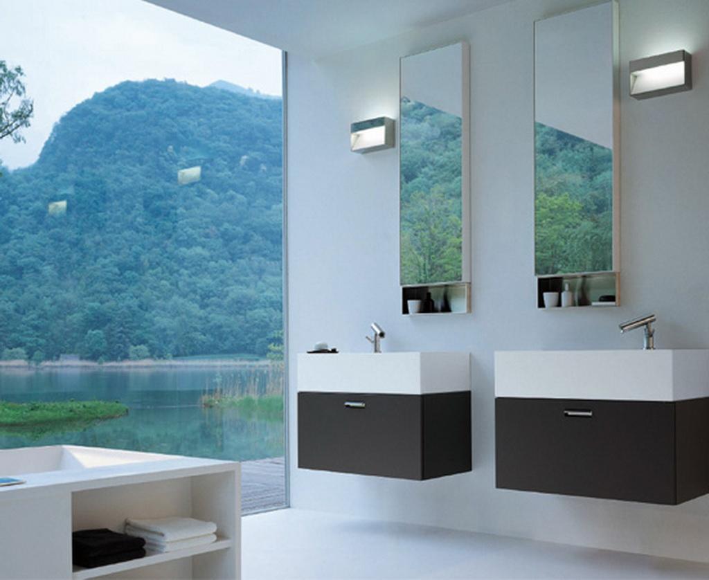 Pin 03 Banheiros Pequenos E Bem Resolvidos on Pinterest #3C718F 1024 838