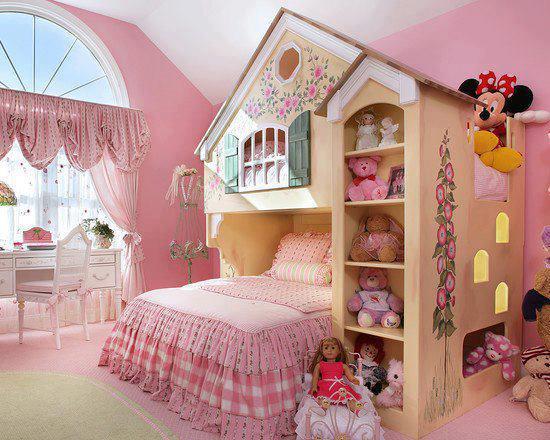 decora%C3%A7%C3%A3o 810 Fotos de decoração de quartos infantil