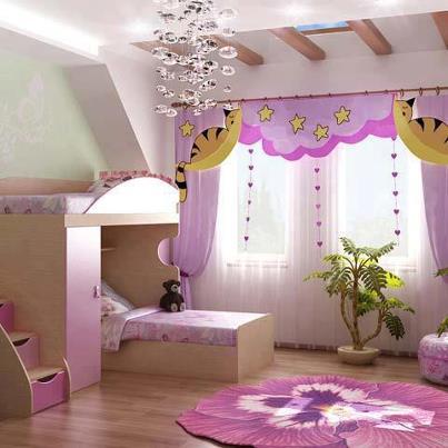 decora%C3%A7%C3%A3o 89 Fotos de decoração de quartos infantil