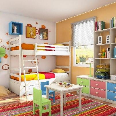 decora%C3%A7%C3%A3o 92 Fotos de decoração de quartos infantil