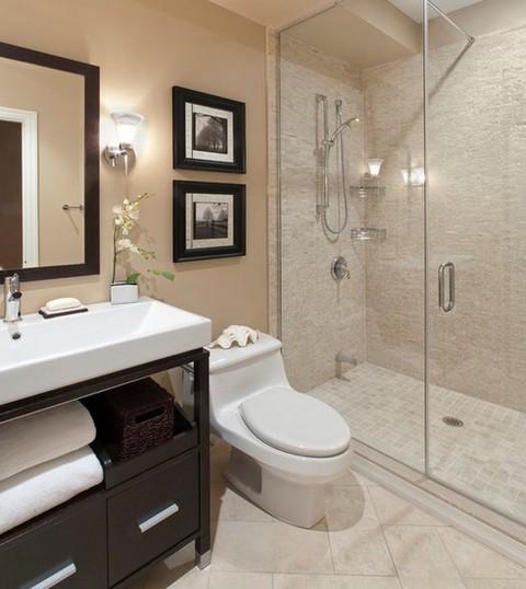 Fotos de decoração de banheiro pequeno -> Dimensao Banheiro Pequeno