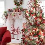 Decoração de casas para o Natal
