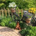 jardins com flores
