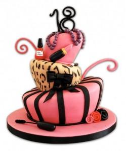 bolo decorado dezoito anos imagens