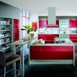 fotos de cozinhas coloridas