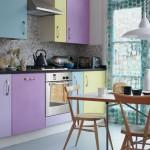 cozinhas coloridas fotos simples