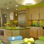 cozinhas coloridas planejadas