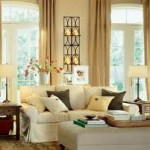 Decoração de salas de estar e jantar