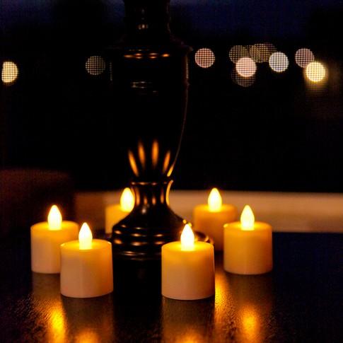 Decora o com velas de led - Velas led primark ...