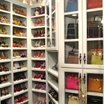 fotos de decoração de closets