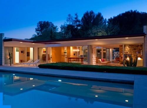 Ideias para casas modernas for Casas modernas com piscina