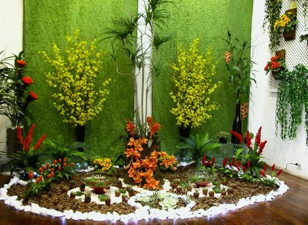 fotos de decoracao de interiores residenciais:jardinagem-decoração-jardins-residenciais