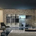 paredes decoradas com pedras naturais